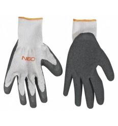 """Rukavice pracovní polyester velikost 10"""" NEO tools"""