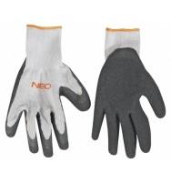 """rukavice pracovní polyester 10\"""" NEO tools"""