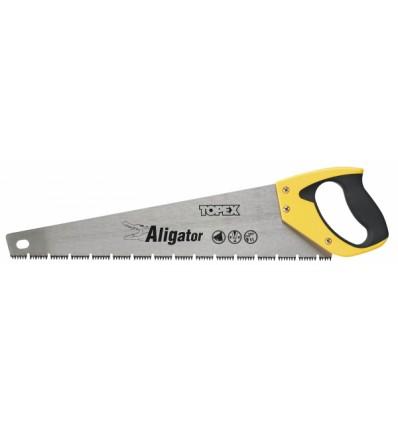 """pila ocaska 450mm \""""Aligator\"""" Topex"""