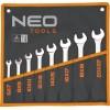 sada klíčů maticových plochých 6-22mm 8ks NEO tools