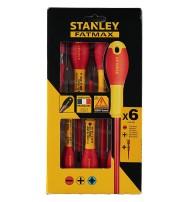 Sada šroubováků izolovaných 1000V FatMax® plochých Stanley 0-65-441