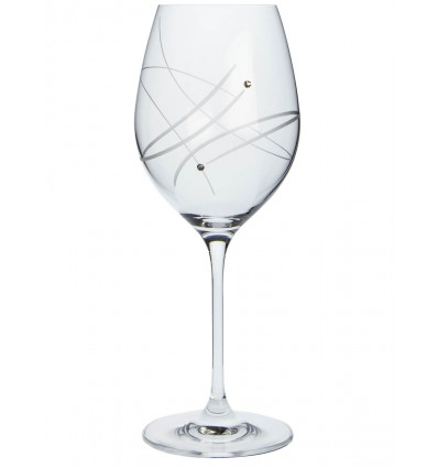 Sklenice na víno 360 Celebration 30538 Swarovski Crystals 6 ks