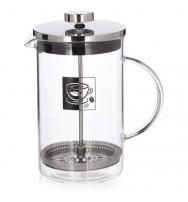 Konvice na kávu 1 l sklo/nerez kafetier