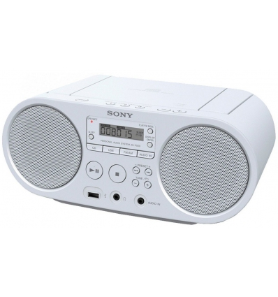 CD Sony ZS-PS50W, bílý