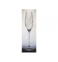 Sklenice na sekt, Celebration 210 ml, Swarovski Elements, (2 ks)