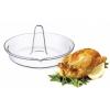 SIMAX Pekáč skleněný na kuře s trnem pr. 24 x 13 cm