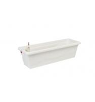 Samozavlažovací truhlík Smart Systém Extra Line 40 cm bílá