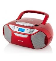 Radiomagnetofon s CD Hyundai TRC 333 AU3BTR červený