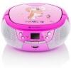 Radiopřijímač GoGEN MAXIPREHRAVAC P s CD/MP3/USB, růžová/purpurová