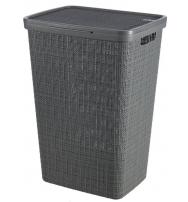 Koš na špinavé prádlo Jute - tmavě šedá KETER 245975