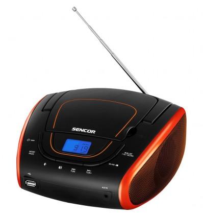 Sencor SPT 1600 BOR, černá/oranžová