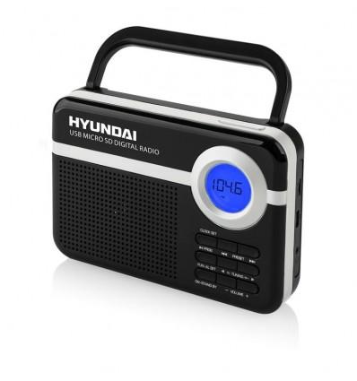 Radiopřijímač Hyundai PR 471 PLL SU BS černý