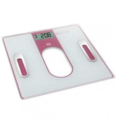 Osobní váha s tukoměrem BRAVO růžová