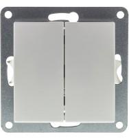 RSA A66 AMY vypínač č.6+6 RETLUX bez rámečku