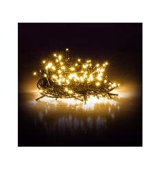 Vánoční řetěz 50 LED 5+5 m teplá bílá