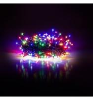 Vánoční řetěz 50 LED 5+5 m mnohobarevný