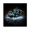 Vánoční řetěz 100 LED 10+5 m, studená bílá