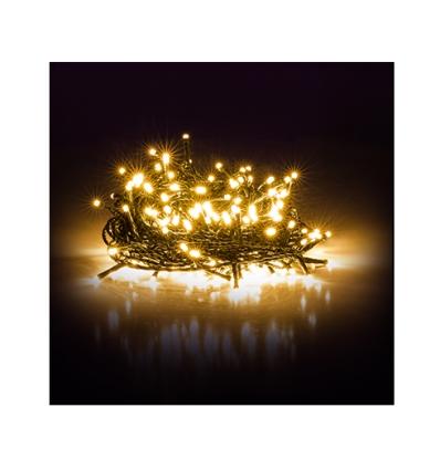 Vánoční řetěz 10+5 m teplá bílá