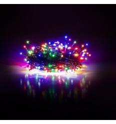 Vánoční řetěz 200 LED 20+5 mnohobarevná