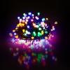 Vánoční řetěz kuličkový 100 LED 10+5 m mnohobarevný