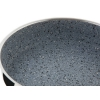 FLONAX STANDARD Pánev s nepřilnavým povrchem černý GRANITEC, s rukojetí, průměr 26cm, objem 2.5l