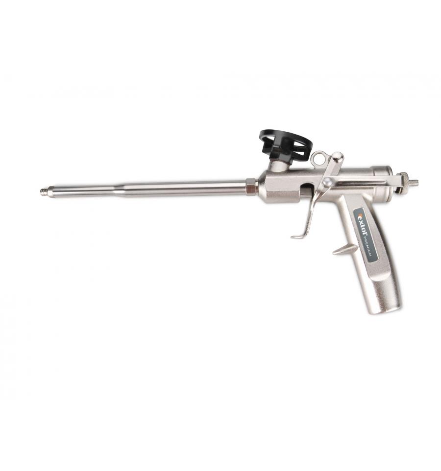 Fotografie pistole na PU pěnu celokovová