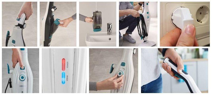 Parní mop Clean Tenso LEIFHEIT 11913 a