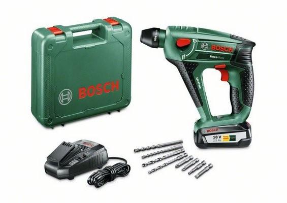 Aku kladivo Bosch 3v1 UNEO Maxx (1x 2,5 Ah)